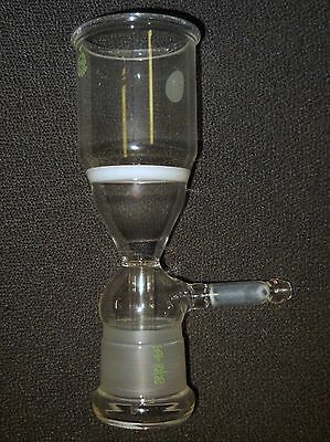Corning Pyrex 2926 Ultra Fine Fritted Morton Bacteria Vacuum Filter Funnel Only