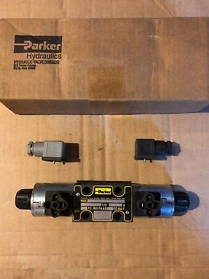 Parker Solenoid Hydraulic Directional Valve Item 4ub17 Model D1vw001cnjwm
