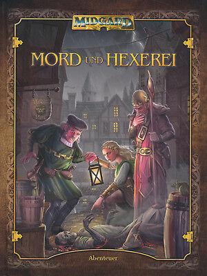 Midgard: Mord und Hexerei (Abenteuerband), Softcover, NEU