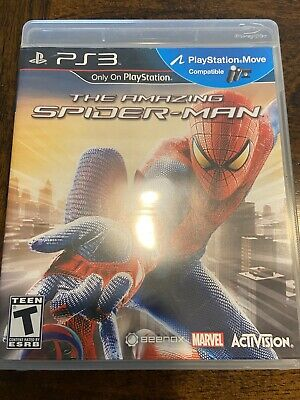 The Amazing Spider-Man (Sony PlayStation 3, 2012) - PS3 - Complete