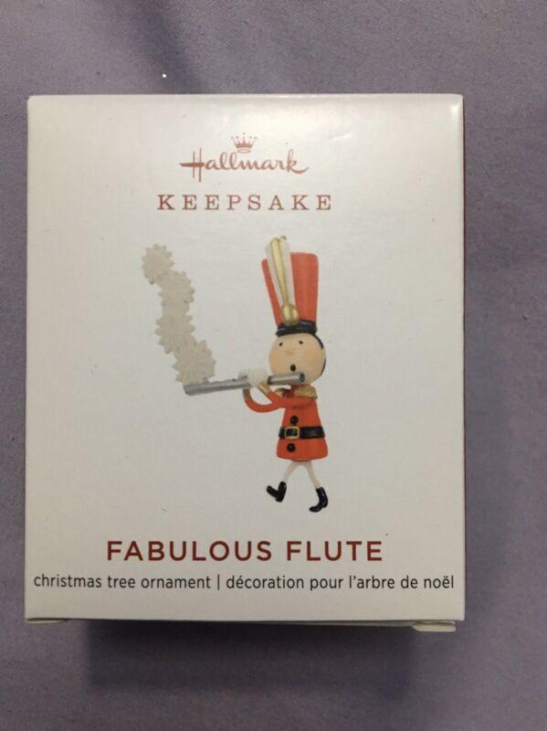 Hallmark 2019 Limited Edition Fabulous Flute Mini Ornament