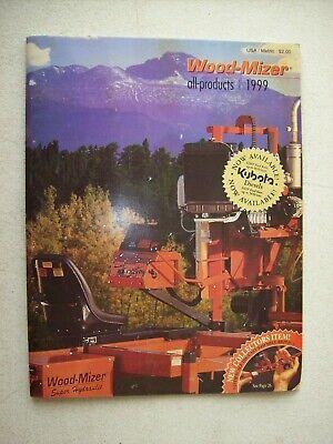 Original Wood Mizer All Products Super Hydraulic Sawmills Catalog Booklet 1999
