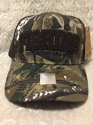 Fishing Out Door Sports Southern Men Camo Baseball Cap Hat