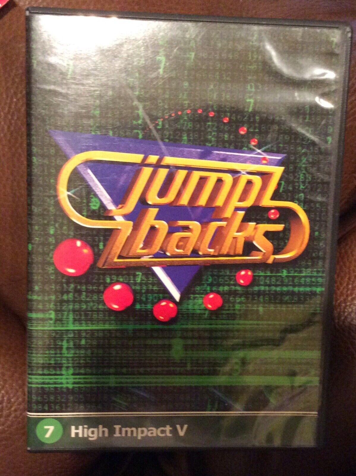 Digital Juice Jump Backs High Impact V 2 Disc DVD 7  - $5.95