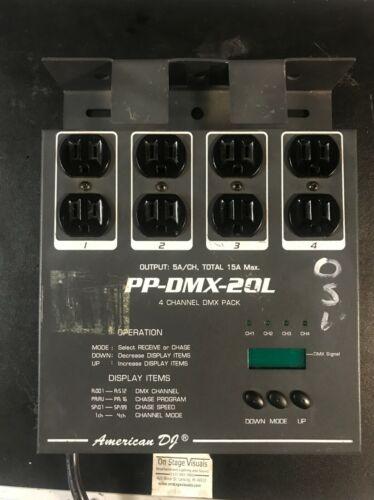 American DJ PP-DMX-20L 4-channel DMX Pack