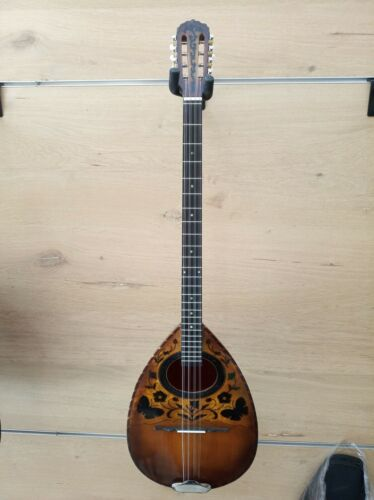 Greek bouzouki fully handmade excellent sound ! Black walnut bowl