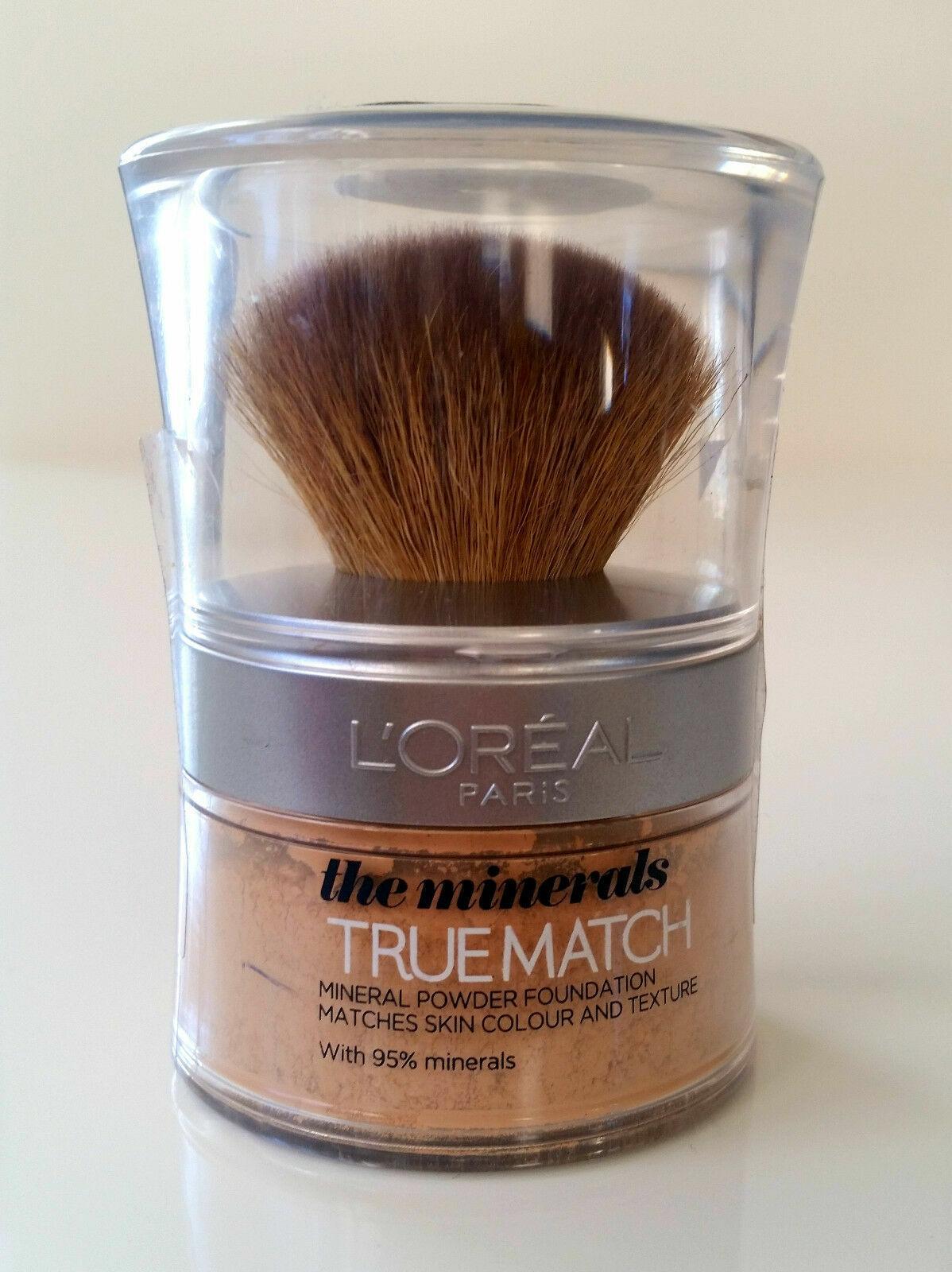 Loreal True Match Mineral Puder Foundation N3 Beige Creme / Creamy Beige