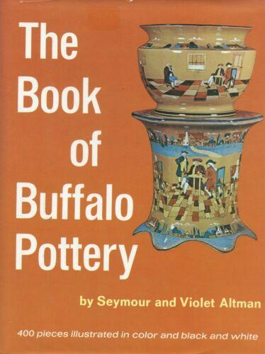 Antique Buffalo Pottery Larkin Blue Gaudy Willow Abino Deldare Etc / Scarce Book