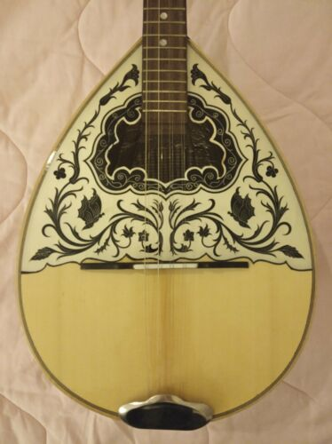 GREEK HANDMADE BOUZOUKI+YOUTUBE VIDEO +SOFT CASE-CHRISTMAS OFFER