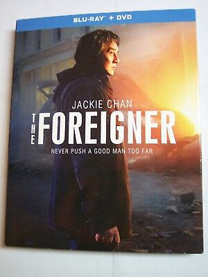 The Foreigner W Slipcover  Blu Ray  Dvd  2018  2 Disc Set  New Jackie Chan