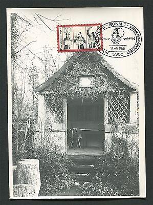 BRD MK 1976 894 WEBER KOMPONIST COMPOSER MAXIMUMKARTE MAXIMUM CARD MC CM d1439