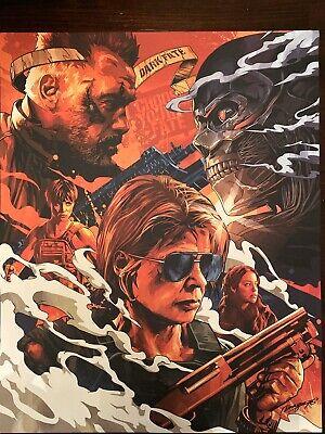 Terminator: Dark Fate Art Print Poster Mondo Alamo Secret Screening x Dragon 76