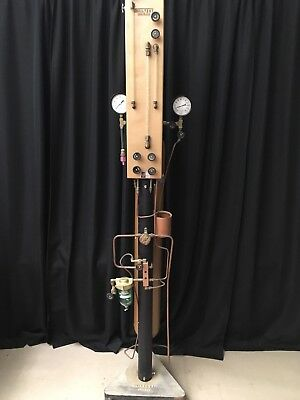 Scientific Chicago Soiltest Inc. Model T-116 Soil Analyzer Steam Punk Winery