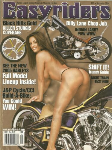 NOVEMBER 2004 EASYRIDERS MAGAZINE MOTORCYCLES GIRLS STURGIS HARLEY NIGHT TRAIN