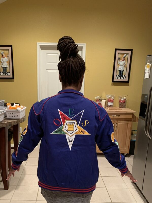 Order Of The Eastern Star Jacket (M-2XL) Brand New!!!!!✔️✔️✔️✔️✔️✔️✔️
