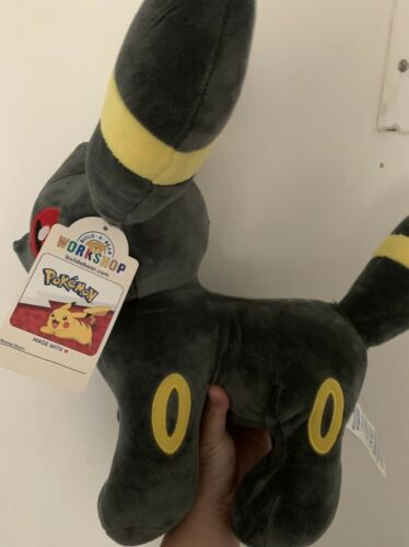 NWT Build A Bear Pok mon Umbreon Plush Eveeevolutions BAB SOLD OUT SHIPS TODAY - $55.00