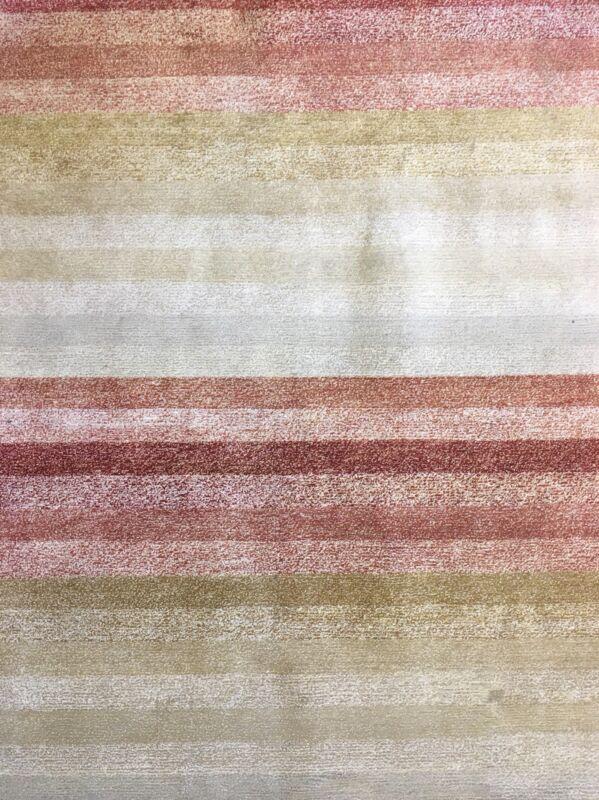 Neat Nepali - Modern Tibetan Rug - Gabbeh Design Carpet - 8 X 10 Ft.