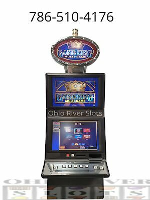 IGT G20 Game King Machine KENO, POKER, SLOTS (Ticket Printer, COINLESS) w/topper