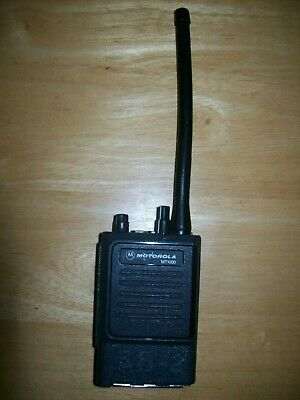 Motorola Mt1000 Vhf 146-162mhz 16ch 5 Watts H43gcu7100cu W Antenna