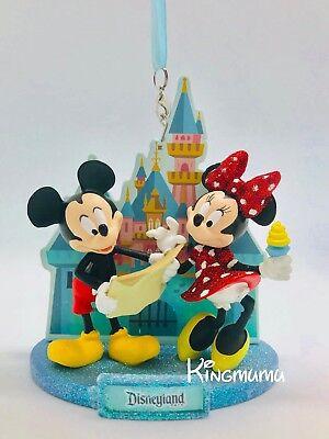 Disney Parks Disneyland Mickey & Minnie Fun Day At Disneyland Christmas Ornament