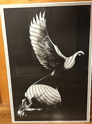 Ben Harper Screenprint By Todd Slater