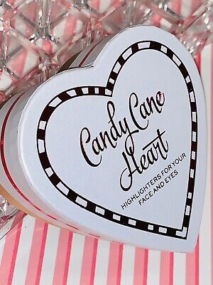 "I Heart ❤️ Revolution ""CANDY CANE HEART"" Baked Highlighter For Face & Eyes *RARE - Candy Cane Heart"