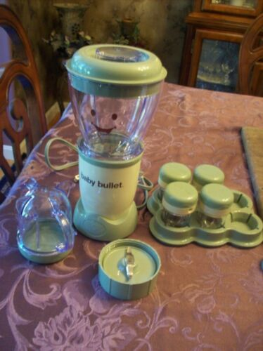 Magic Baby Bullet Blender And Containers & Accessories