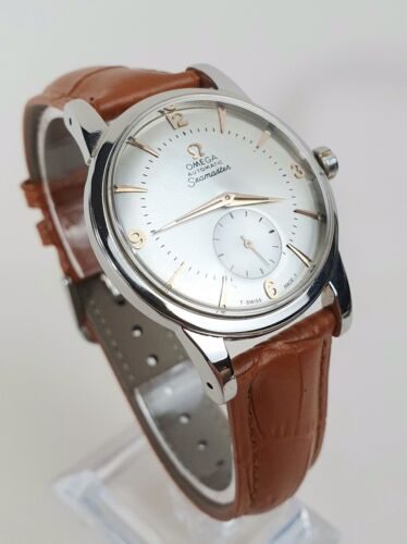 Outstanding Oversize Vintage Omega Seamaster Automatic 2657 Cal.344 Gents Watch - watch picture 1