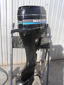 MERCURY 20HP OUTBOARD Lonsdale Morphett Vale Area Preview