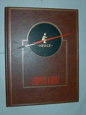 L'UNIVERS D'HERGE TOME IV JOURNAL DE TINTIN INTEGRALE ROMBALDI EO 1987 TBE