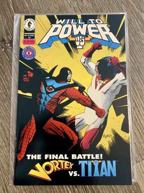 Will to power #12 Dark Horse Comics 1994 VF+ Vortex vs Titan