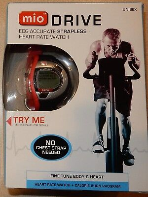 MIO DRIVE ECG Accurate Strapless Heart Rate & Calorie Monitor  Unisex Watch