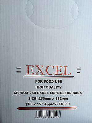 EXCEL POLY BAGS 10