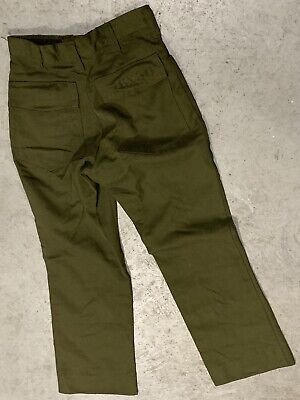 Fss Aramid Wildland Firefighter Pants Cargo Forest Fire Green Sz 26 X 30 See Pic