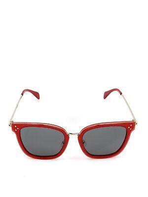 CELINE CL40035F 66N RED CAT EYE SUNGLASSES 54/19/140 (Celine Red Sunglasses)