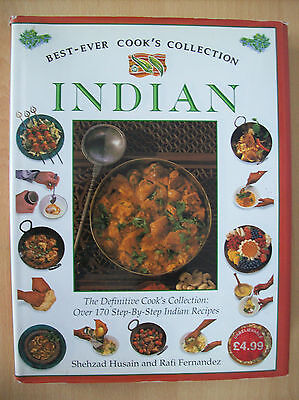 Best Ever Cook's Collection Indian Over 170 Step by Step Indian Recipes H/ Back