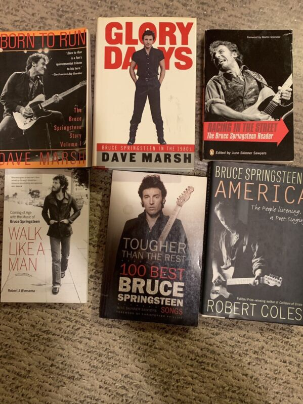 Bruce Springsteen - 6 Book Collection