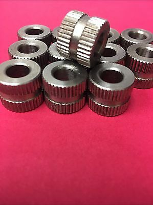 "5/16"" ID X 5/8"" OD X 1/2"" HIGH STEEL KNURLED SG SERRATED DRILL BUSHING"