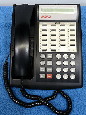 Avaya Partner 18d Black Business Phone And Handset