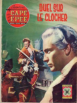 AVENTURES DE CAPE ET D'EPEE 3 (1963) DUEL SUR LE CLOCHER BEL ETAT