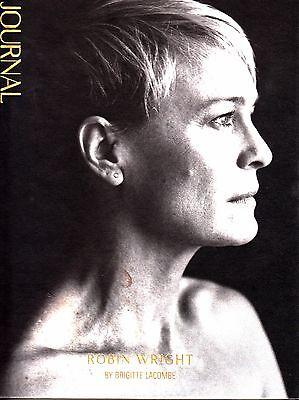 NeueJournal Neue Journal Issue 1 Spring 2015 Robin Wright Fashion Magazine