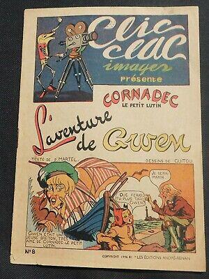 récit complet collection clic clac images. l'aventure de gwen. andré-renan 1946