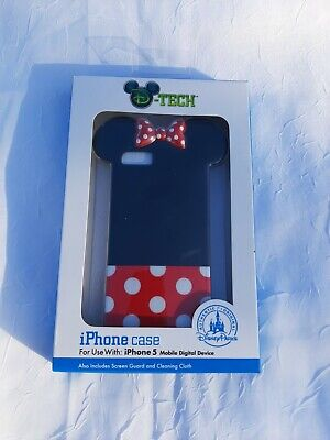 Disney Parks D-Tech Minnie Mouse iPhone Case For Use With iPhone 5