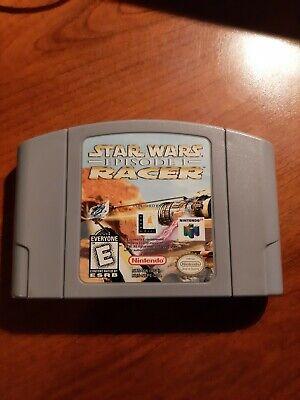 N64 Star Wars Episode I Racer | Nintendo 64 Tested Working