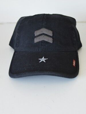 New A-KURTZ Baseball Cap Hat Khaki FRITZ Flex Taupe Chevron Black AK324 One Size