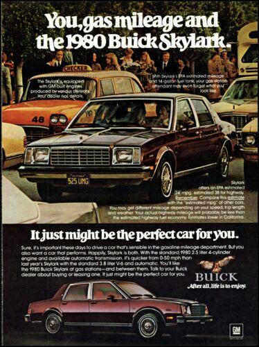 1979 Buick skylark car checker taxi cab traffic vintage photo print Ad ads33