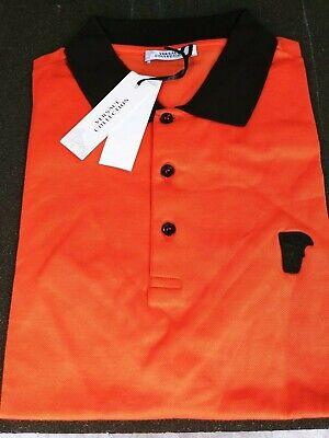Versace Collection Medusa Men's Short Sleeves Polo Shirt Sz L
