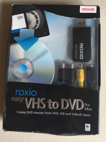 Easy VHS to DVD for Mac Mac 8040230