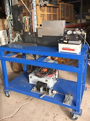Oetiker Flex Airhydraulic Industrial Hose Crimper Machine For Multi Crimp Rings