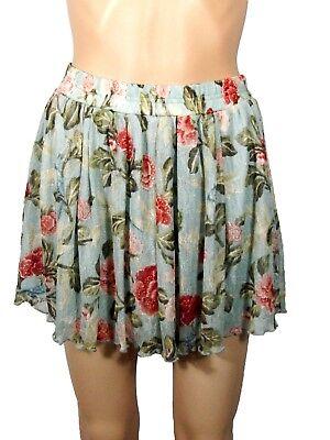 Ralph Lauren Denim & Supply Floral Mini Skirt NWT Lace Medium Fully Lined $89.50